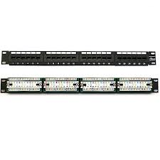Patch Panel 24 port Cat5 (1479154-2)