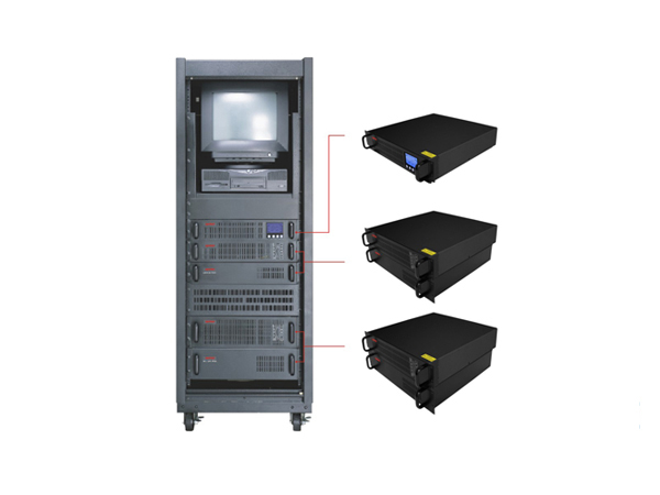 UPS ZLPOWER RackMount 3KVA - Double Convertion True Online ( P/No: RM3K-C)