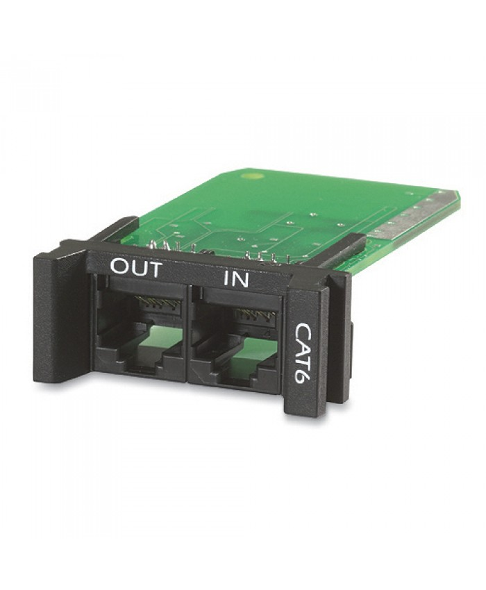 APC Surge Module for CAT6 or CAT5/5e Network Line, Replaceable, 1U, use with PRM4 or PRM24 Chassis