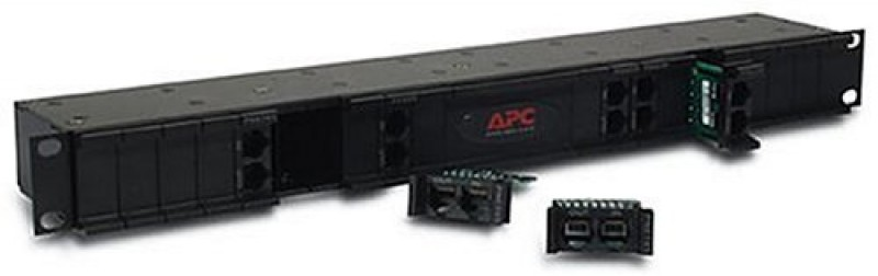 APC 24 position chassis for replaceable data line surge protection modules, 19