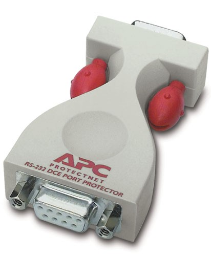APC ProtectNet standalone surge protector for Serial RS232 lines (9 pin male to female)